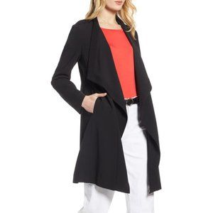 NWT Halogen Drape Front Lightweight Jacket